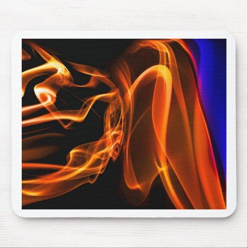 Abstract Smoke Art Photography Mousemats