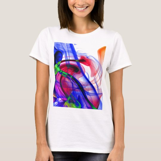 Abstract Smoke Art Photography T-Shirt