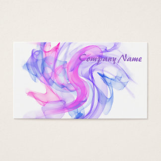Abstract  Smoke on the Water Business Card