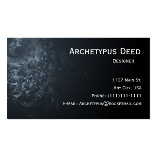 Abstract Snake Skin Business Card