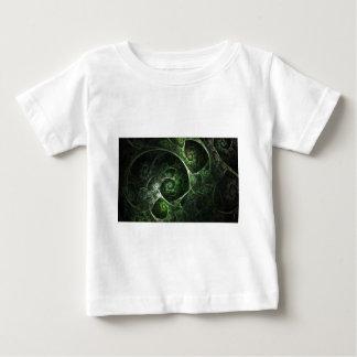 Abstract Snake Skin Green Shirt