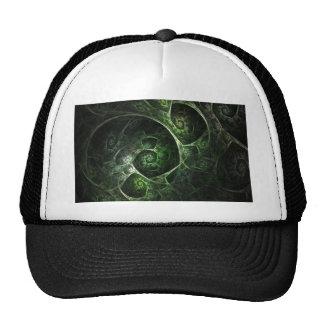 Abstract Snake Skin Green Trucker Hat