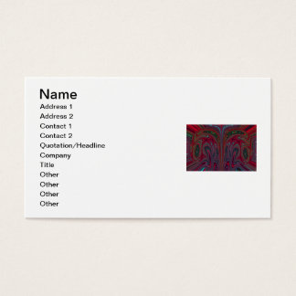 Abstract Snakehead Design Business Card
