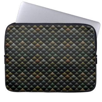 Abstract Snakeskin Pattern Computer Sleeve