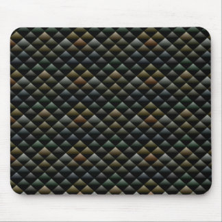 Abstract Snakeskin Pattern Mouse Pad