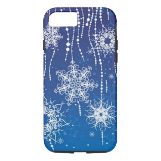Abstract Snowflakes iPhone 8/7 Case