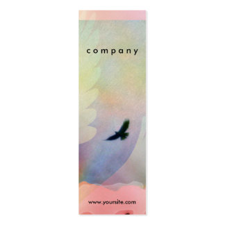 Abstract Soaring Hawks Business Card
