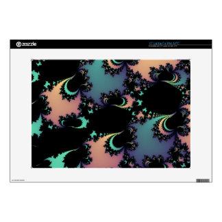 """Abstract Soft Colors Fractal Design Skins 15"""" Laptop Skin"""