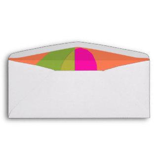 Abstract Soft Orange Envelope