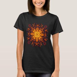 Abstract Solar Power Symbol T-Shirt
