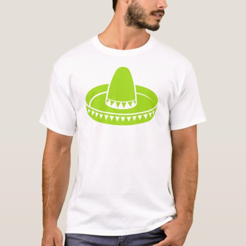 Abstract Sombrero Design T_Shirt