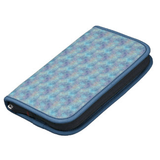 Abstract Soothing Cool Blue Colors Day Planner