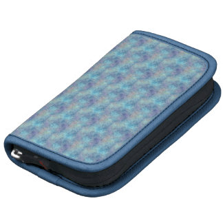 Abstract Soothing Cool Blue Colors Organizer