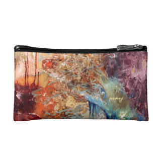 Abstract Soul Bag Cosmetic Bags