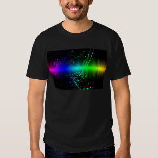 Abstract Sound Waves In Motion Tee Shirt