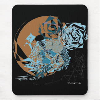 Abstract Space World Mousepad