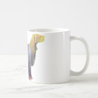 Abstract Spaniel silhouette Coffee Mug