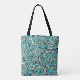 Abstract Spectral Glass Tote Bag
