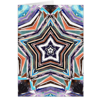 Abstract Spectral Star Card