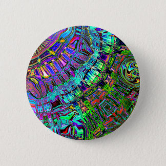 Abstract Spectrum of Shapes Pinback Button