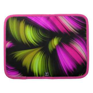 Abstract Spectrum Ribbons Pink Green Organizers