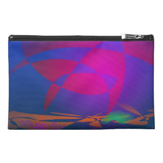 Abstract Sphere Travel Accessory Bags