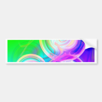 Abstract sphere no. 1 created by Tutti Bumper Sticker