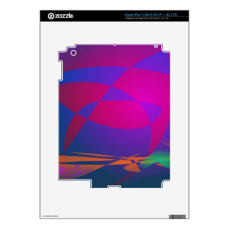 Abstract Sphere iPad 3 Decal