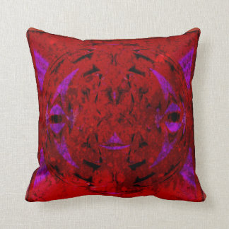 Abstract Sphere Throw Pillow
