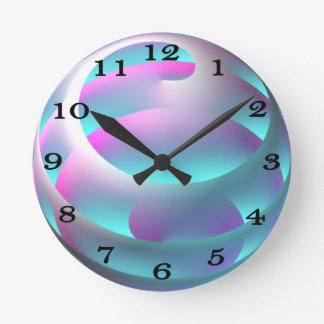 Abstract Sphere Wall Clock