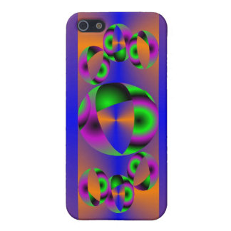 Abstract Spheres Case For iPhone SE/5/5s
