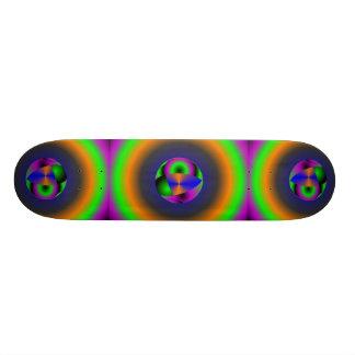 Abstract Spheres Skateboard Deck