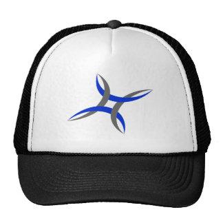 Abstract Spider Design Baseball Cap Trucker Hat