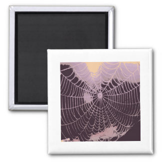 Abstract Spider  Web Refrigerator Magnets