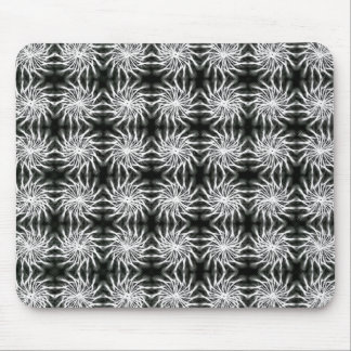 Abstract spinning stars energetic pattern regular mouse pad