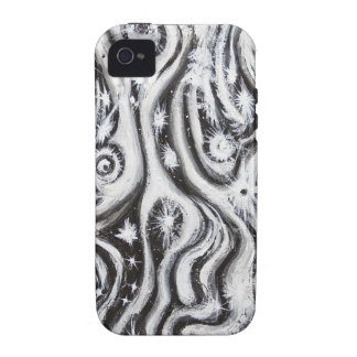 Abstract Spiral Galaxies (surrealism pattern) iPhone 4 Cases