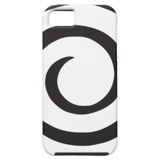Abstract Spiral iPhone SE/5/5s Case