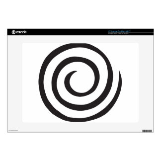 Abstract Spiral Laptop Decals