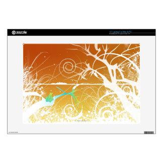 "Abstract Spirals and Swirls 15"" Laptop Skin"
