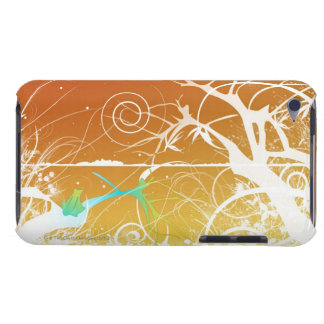Abstract Spirals and Swirls iPod Case-Mate Case