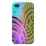 Abstract Spirals iPhone 4 Cover