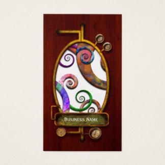 Abstract - Spirals - Planet X Business Card