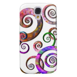 Abstract - Spirals - Planet X Samsung Galaxy S4 Case