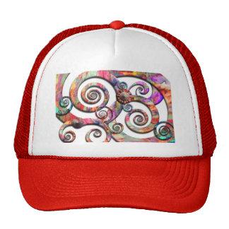 Abstract - Spirals - Wonderland Trucker Hats