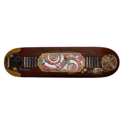 Abstract - Spirals - Wonderland Skate Board Decks