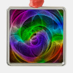 Abstract Spirograph Art Ornaments