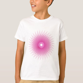 Abstract Spirograph Concentric Circle Pattern T-Shirt