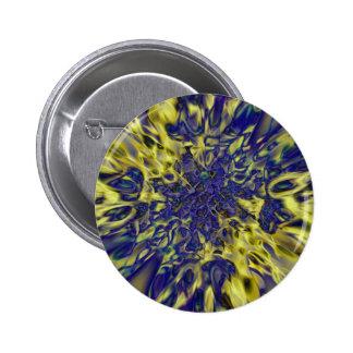 Abstract splash background pinback button