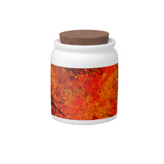 ABSTRACT SPLASH CANDY JAR