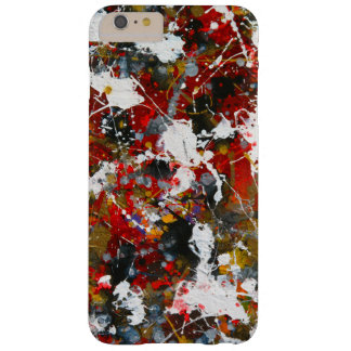 Abstract Splashes. Barely There iPhone 6 Plus Case